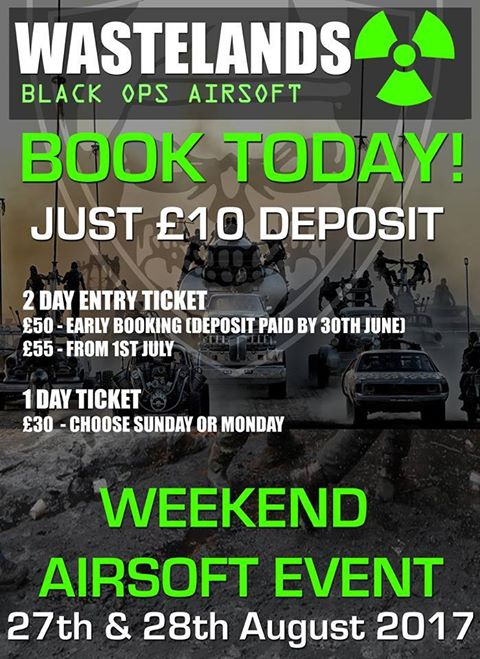 wasteland airsoft weekender event